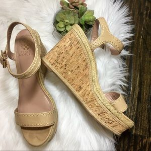 Vince Camuto wedge. Size 10.